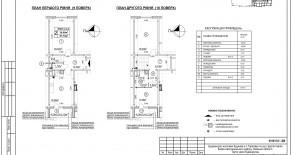 Двухуровневая квартира тип 2-3-2 — 87,74 м2