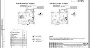 Двухуровневая квартира тип 2-4-2 — 68,1 м2