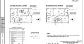 Двухуровневая квартира тип 4-1-2 — 126,7 м2