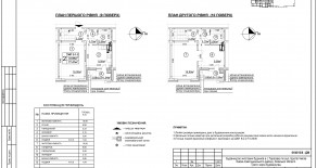 Двухуровневая квартира тип 2-1-2 — 77,47 м2