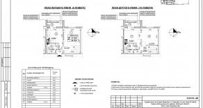 Двухуровневая квартира тип 2-5-2 — 68,1 м2