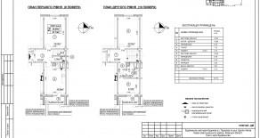 Двухуровневая квартира тип 2-6-2 — 87,74 м2